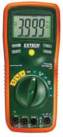 Extech Multimeter (Extech EX430A Professionelles Multimeter mit True RMS und 11 Funktionen)