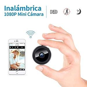 camara espia vision nocturna: Mini cámara Oculta espía HD WiFi FREDI con visión Nocturna y conexión remota Des...