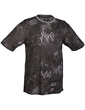 Mil-Tec Hombres T-Shirt Mandra Night Tamano 3XL