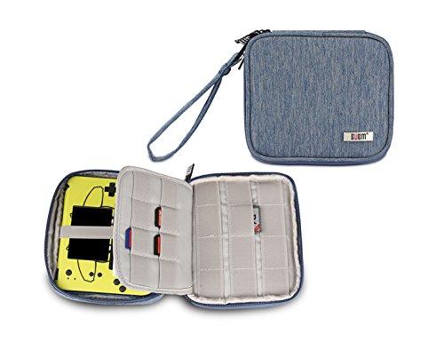 Nintendo 2DS Tasche, Tragetasche für Nintendo 2DS Schutzhülle für Nintendo Konsole & Accessoires (Blau)