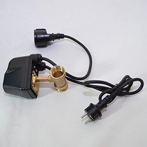 Trockenlaufschutz SK-13 für Gartenpumpe Hauswasserwerk Tiefbrunnenpumpe 230V Anschluß 1″ für Pumpen bis 2000Watt Stromaufnahme. Schützt Pumpen vor Trockenlauf und somit vor Schäden.