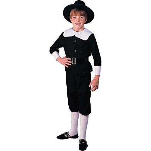 Rubie's Pilgrim Boy Child's Costume, Medium by Rubie's Costume - Kinder Pilgrim Boy Kostüm