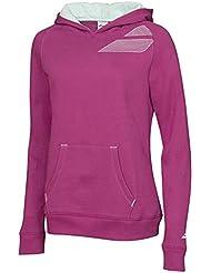 Babolat core sudadera con capucha para mujer de colour púrpura XL