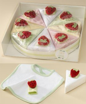 lambs-ivy-yum-yum-baby-pie-bib-set-neapolitan-discontinued-by-manufacturer-by-lambs-ivy
