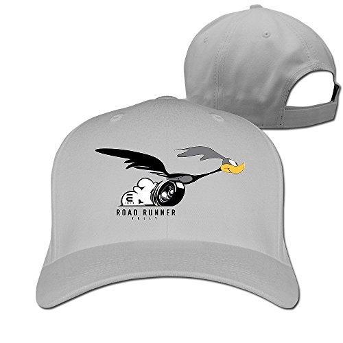 hittings-danshen-road-runner-hat-peaked-baseball-caps-ash