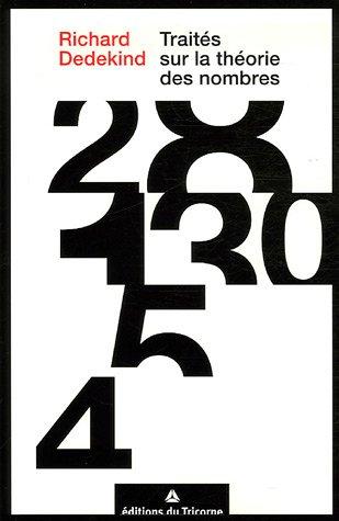 Traits sur la thorie des nombres