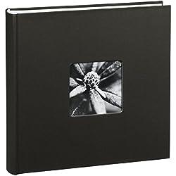"""Hama Album Photo """"Fine Art"""" (format 30 x 30 cm, 100 pages blanches, sans spirale) Noir"""