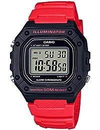 Casio Youth Digital Black Dial Men's Watch-W-218H-4BVDF (I111)