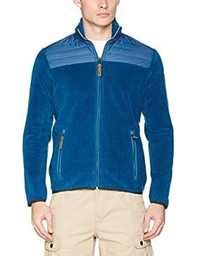 CMP–Chaqueta de forro polar Ocio Chaqueta de lana para mujer azul wooltech acolchada) Talla 503h32267