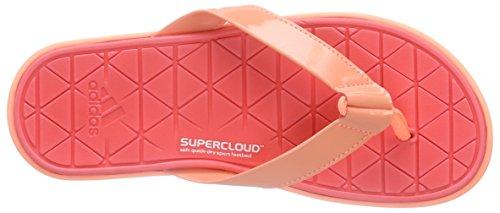 adidas Performance  Caverock - Tongs Femme Multicolore (Sun Glow S16/Chalk White/Shock Red S16)