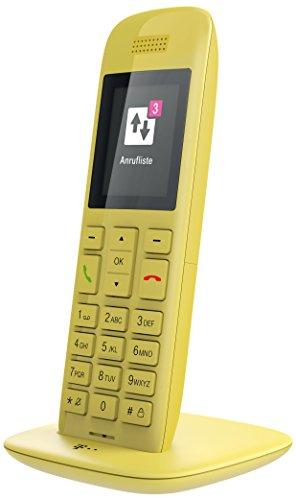 "Telekom Speedphone 11 Terminal inalámbrico TFT Amarillo - Teléfono IP (TFT, 220 x 176 Pixeles, 5,08 cm (2""), 65536 Colores, 100 entradas, AAA)"