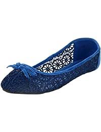 willywinkies Girls' Crochet Ballet Flats