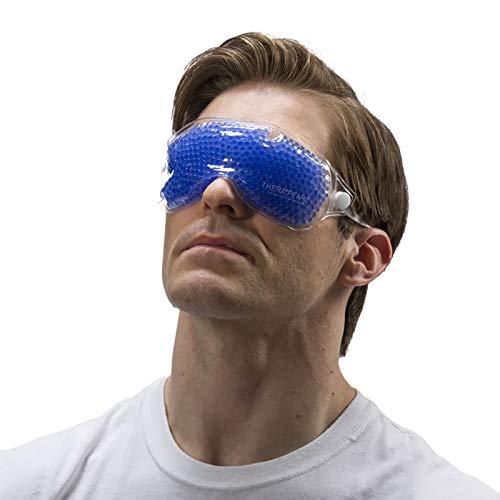Wiederverwendbare Augenmaske mit flexiblen Gelperlen. - Cooling Eye Mask