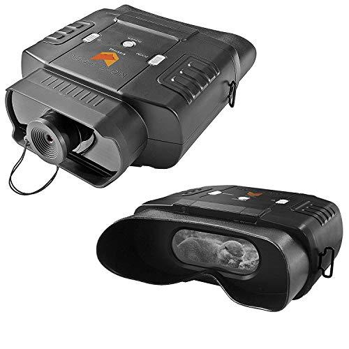 Nightfox 100V - Prismáticos de visión nocturna por infrarrojo digital - Visor panorámico - 3x20