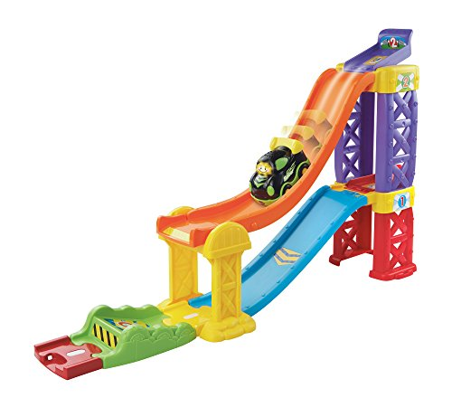 Image of VTech Baby Toot-Toot Drivers Racing Rampway - Multi-Coloured
