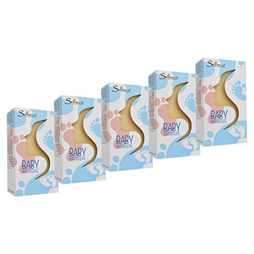 Skineco Baby Seife mit Ziegenmilch und Calendula, 5er Pack (je x 90 g)