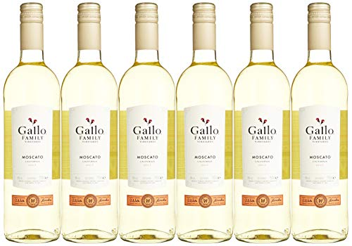 Gallo Family Vineyards Moscato Ernest und Julio 2015/2017 Süß (6 x 0.75 l)