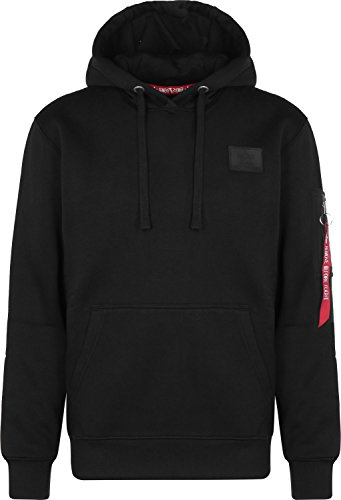 Alpha Industries Back Print Hoodie Schwarz S -