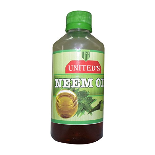 United\'s Neem Oil 200Grm for Skin & Hair |100% Cold Pressed | Natural Skincare | Hair Care & Natural Bug Repellent | Skin Replenishing | Scar Removal | All Natural Anti-Aging | Moisturizer | Antisept