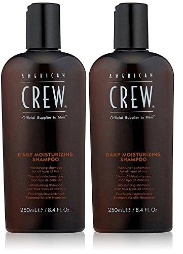 American Crew 2 er Pack American Crew Daily Moisturizing Shampoo 250 ml - American Crew Daily Moisturizing Shampoo