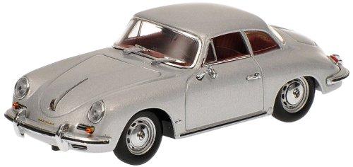 Preisvergleich Produktbild Minichamps 400064321 - Porsche 356 B Hardtop Coupe, Maßstab: 1:43, silber