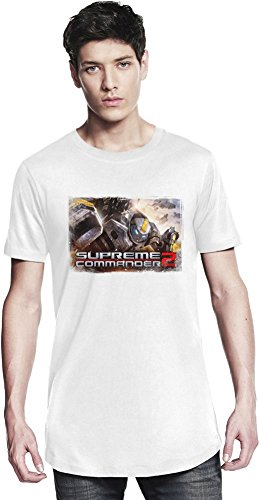 Supreme Commander 2 Poster Lungo T-shirt X-Large
