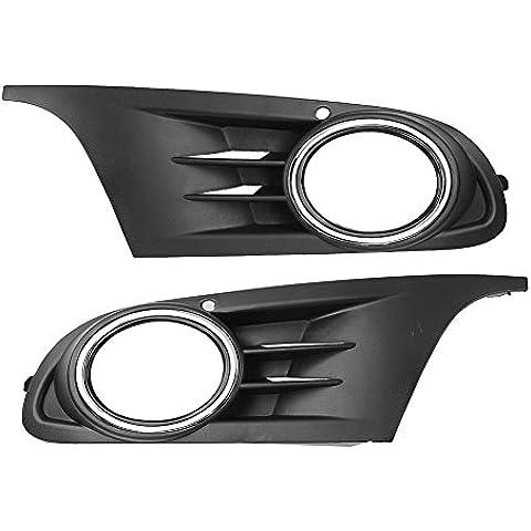 Elegante _ Smart 1par parachoques delantero inferior rejilla de parrilla de Fog Light para Volkswagen Golf MK6S sel TD TDI TSI