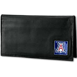 NCAA Arizona Wildcats Deluxe Leather Checkbook Cover