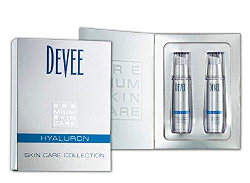 Devee Hyaluron Platinum Serum + Hyaluron Hydro Creme - Pflegeset, Geschenkset - By Beauty & Legwear Store