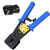 SUPAREE RJ45 Crimping Tool - per cavi di rete e telefonici RJ11/RJ12 - Telecomando modulare 3-in-1 Pinze per cavi di rete a crimpare Crimpatrice per cavo di rete 6P/8P