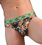 Men Sexy Boxer Binggong Homme Underwear Hommes Cartoon Prints Slips en Coton Doux Culottes Shorts Boxeurs Slip Confortable Respirable Bulge Pouch Soft Slip des MéMoires
