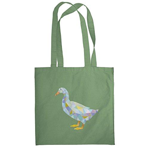 Texlab–Poly Duck–sacchetto di stoffa Oliva