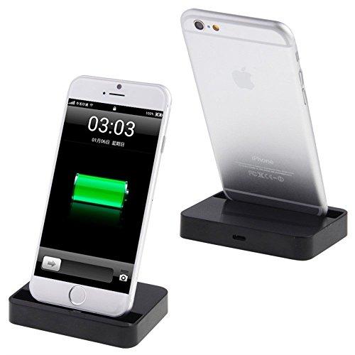 Apple iPhone Desktop Charging Dock - Gold schwarz