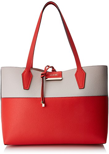 Guess Damen Bags Hobo Schultertasche, Mehrfarbig (Poppy Multi), 12.5x27x42.5 centimeters
