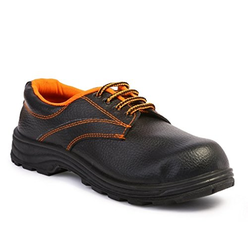 Safari Pro Safex PVC Safety Shoes Steel Toe (Size 7)  available at amazon for Rs.199