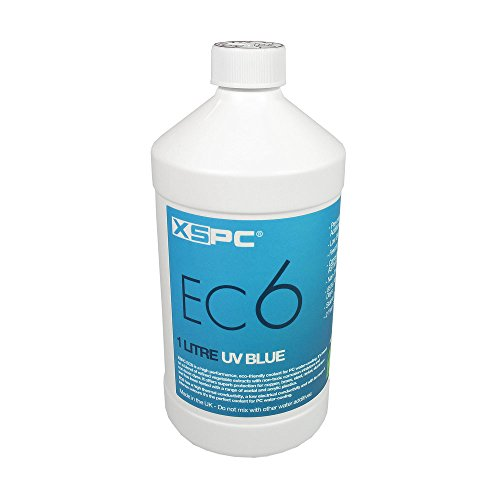 XSPC XS-EC6-CLV Refrigerante no conductivo, UV Claro