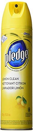 Pledge Lemon Clean Furniture Spray 138 Oz Pack Of 3