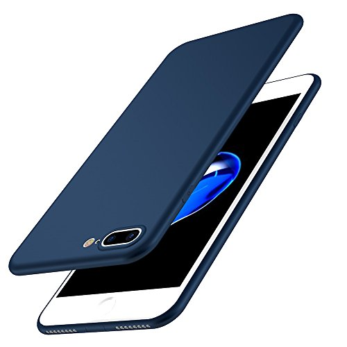 Custodia iPhone 7/8 Cover, Custodia Placcatura TPU Bumper Case Silicone Anti-graffio Copertura Tacsa Caso per apple iPhone 7 Plus/8 Plus Case Cover blue