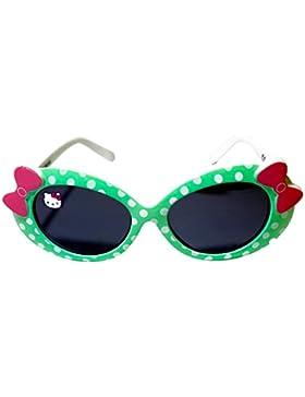 Niños niñas Hello Kitty Carácter Aqua lunares gafas de sol forma ovalada edad 3+ UV Protección EX STORE oficial