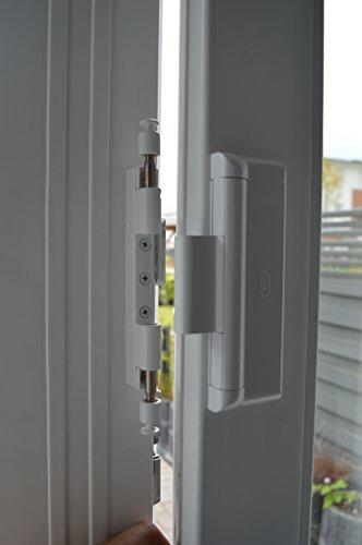 CAL DOUBLEX XL, Bianco, Sistema di sicurezza per porte e finestre ...