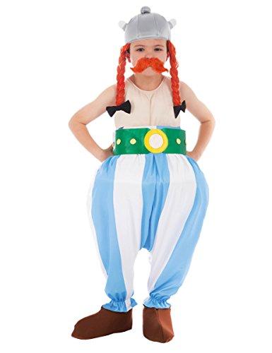Chaks–cs805300/128–Kostüm–Kostüm Lizenz Obelix 5teilig, ()