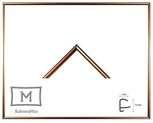 Iowa Kunststoff-Bilderrahmen 63x88 cm Posterrahmen 88x63 cm Farbwahl jetzt: Gold mit 1 mm Acryglas klar