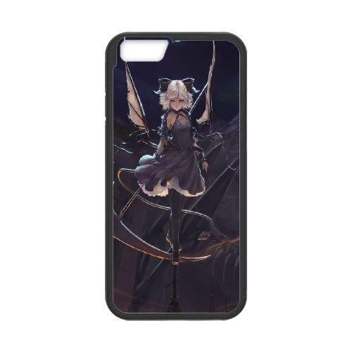 Dark Girl In The Moonlight 3 coque iPhone 6 4.7 Inch Housse téléphone Noir de couverture de cas coque EBDXJKNBO15801