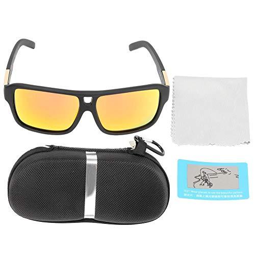 Polarisierte Sonnenbrillen, Unisex Radsportbrillen Herren Damen Sport Polarisierte Sonnenbrille UV-Schutz Brillen Angeln Brillen Polarisierte Gläser Ultraleicht Rahmen zum Fahren Reisen Radfahren(4#)
