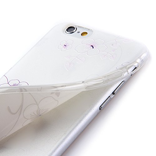 Etche Boîtier en caoutchouc pour iPhone 6 Plus/6S Plus,Cas de TPU pour iPhone 6 Plus/6S Plus,Coque pour iPhone 6 Plus/6S Plus,Colorful série Imprimé Housse de la peau de pare-chocs TPU Soft en caoutch TPU #15