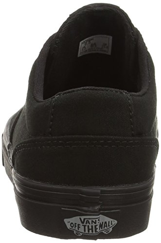 Vans Winston, Baskets Basses Femme Noir (Canvas/Black/Black)