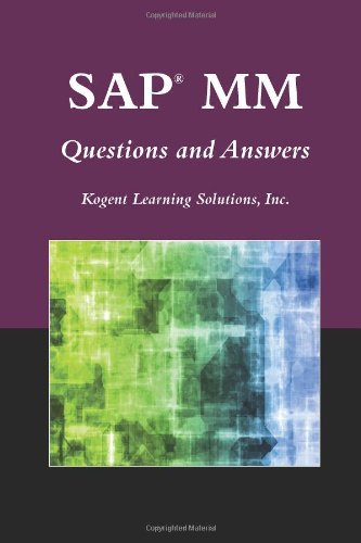 SAP?? MM Questions And Answers (SAP Books) by Inc., Kogent Learning Solutions (2009-10-02)
