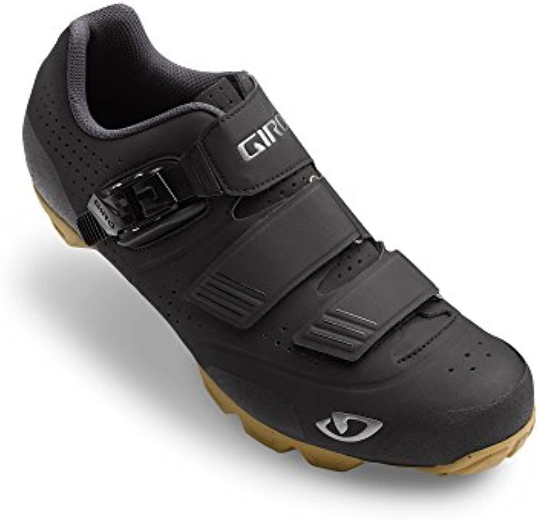 Giro Privateer R MTB, Zapatos de Bicicleta de Montaña para Hombre, Multicolor (Black/Gum 000), 47.5 EU