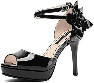 Sunny De Las Mujeres Extremo Alto Moda Bombas Peep Toe Hecho a Mano para la Boda Fiesta Vestir Zapatos