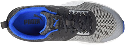 Puma Propel, Chaussures de Running Compétition Homme Quarry/Asphalt/Electric Blue Lemonade/Bianco